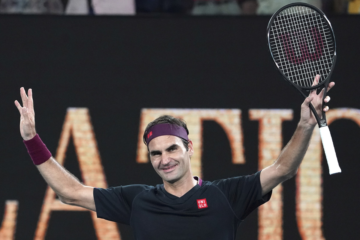 Federer Serena Williams Highlight Day 3 At Australian Open