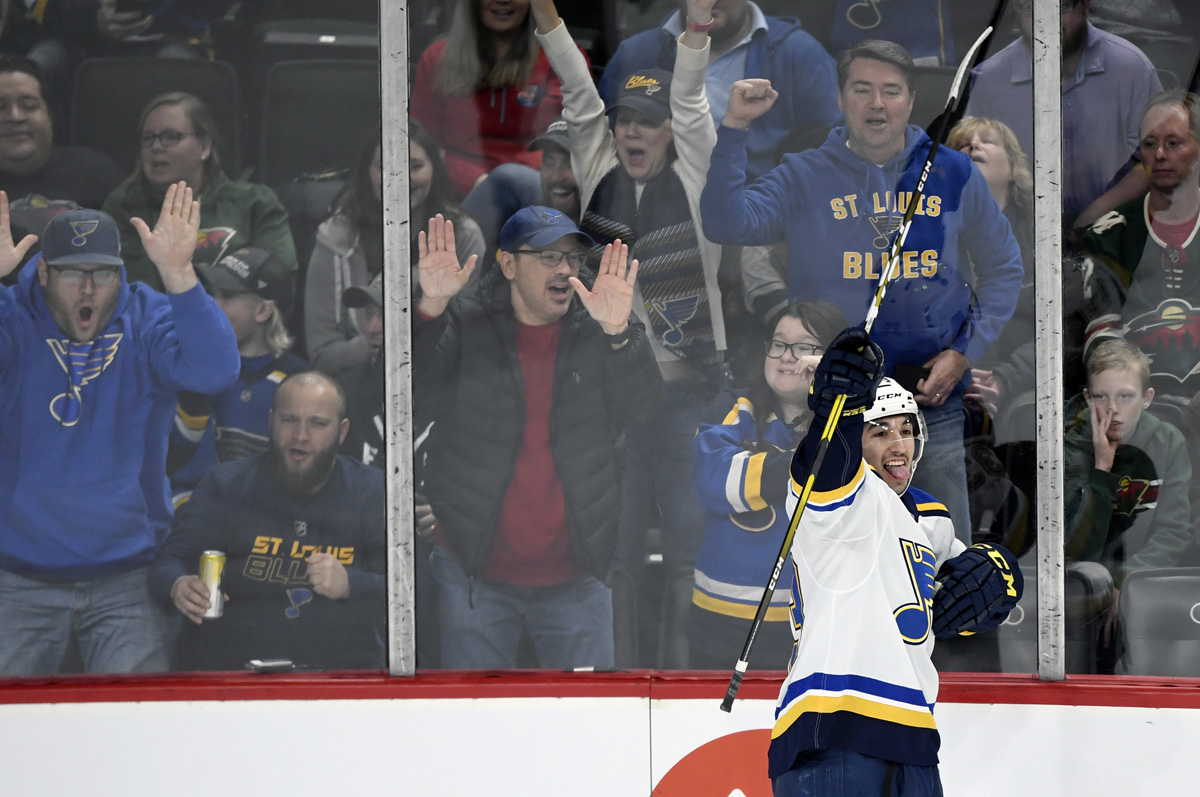 Blues set for Winter Classic match with the Wild in 2021
