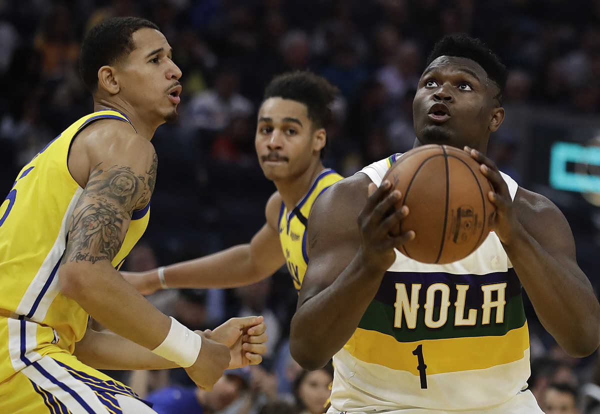 Zion Williamson plays splendid as he leads Pelicans to win over Warriors
