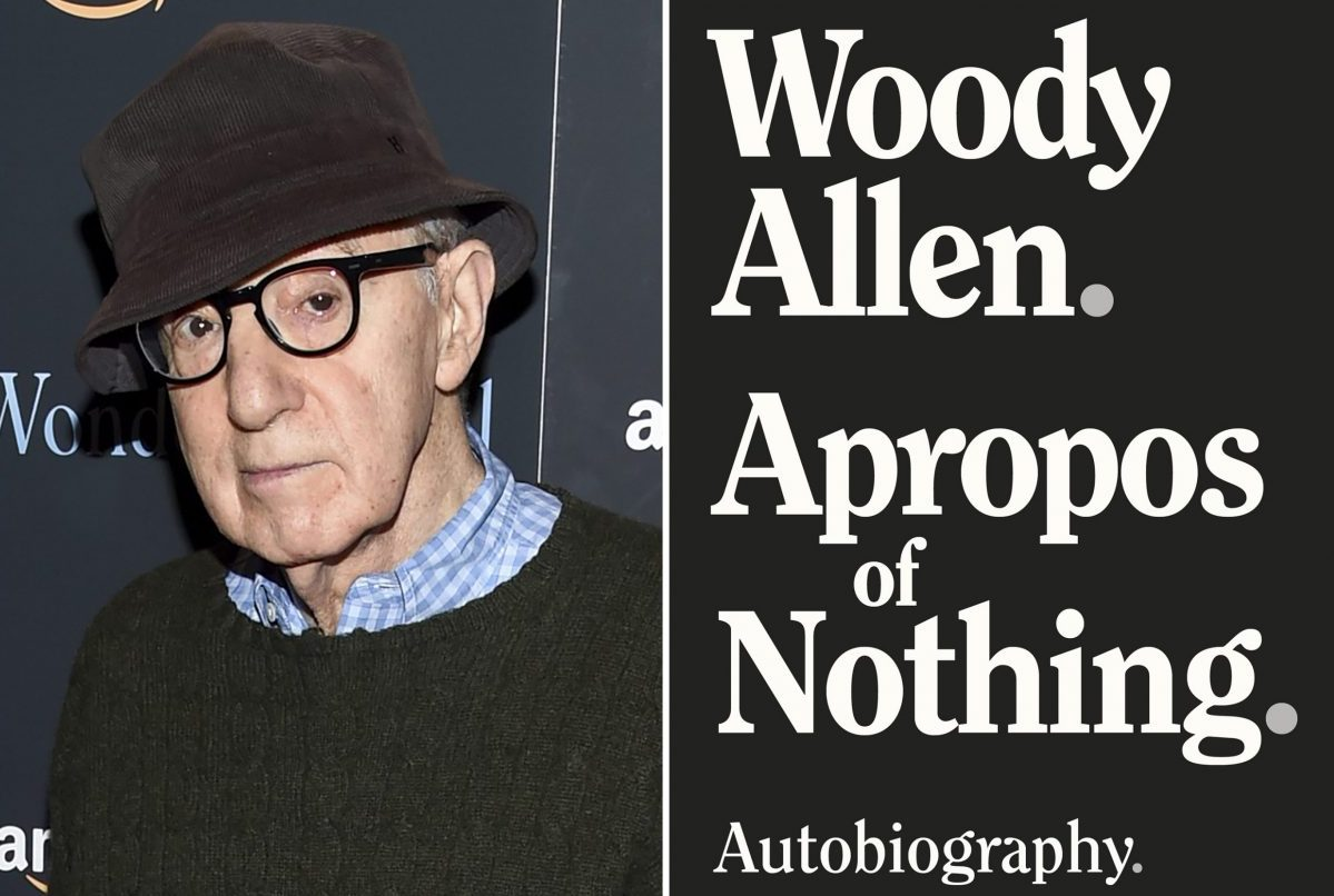 Woody Allen's memoir 'Apropos of Nothing' hits the market
