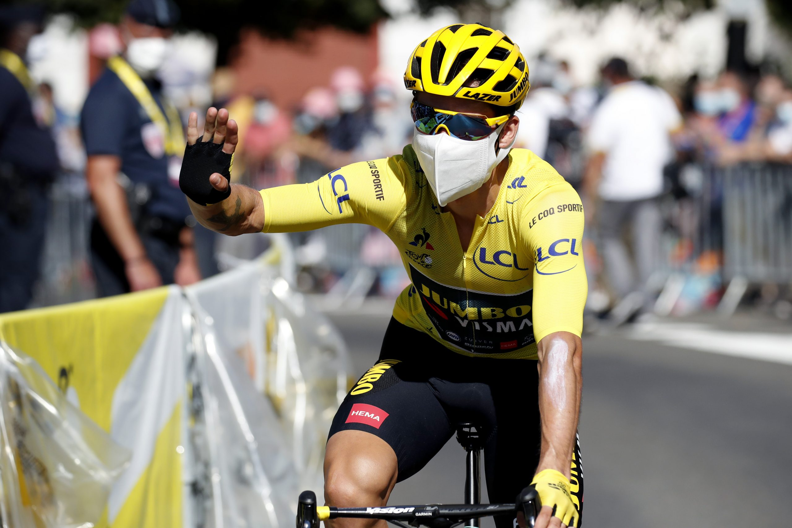 Roglic Imperial On Tour De France Stage 13 Won By Martinez Outlaw 103 1